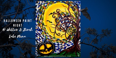 Family & Friends Halloween Paint Night tickets