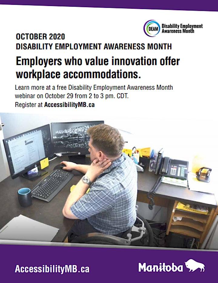 Disability Employment Awareness Month (DEAM) 2020 image