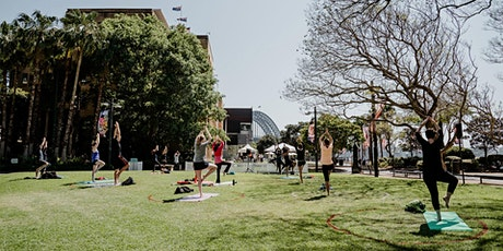 Outdoor Pilates with MORE BODY tickets