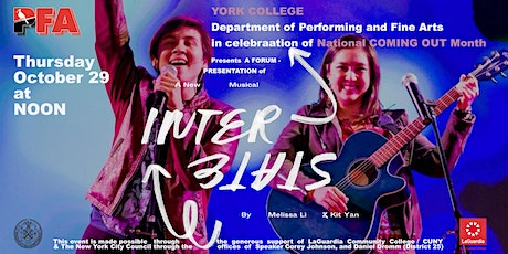 Interstate: a new musical - forum/performance tickets