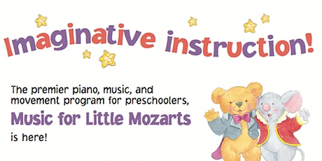 Music for Little Mozarts Online for 3 - 6 year olds, Trial Class Live tickets