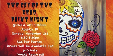 The Day of the Dead Paint Night tickets