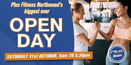 Plus Fitness Northmead's Biggest ever Open Day tickets