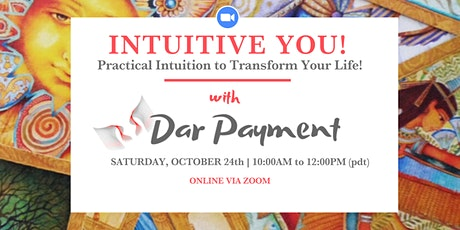 Intuitive YOU! A Live Online Interactive Workshop tickets