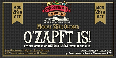 "Official opening of ""OKTOBERFEST Week"" tickets"