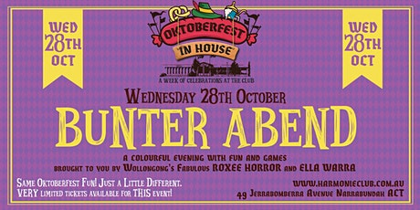 BUNTER ABEND (Colourful Evening) FUN & GAMES tickets