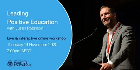 Leading Positive Education Online Workshop (November 2020) tickets