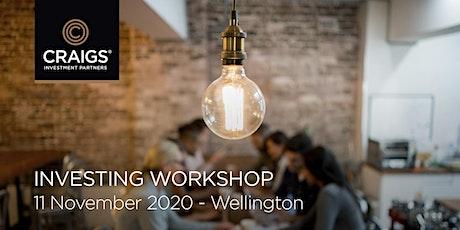 Investing Workshop - Wellington tickets