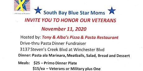 Blue Star Moms PASTA DINNER FUNDRAISER - DRIVE-THRU tickets