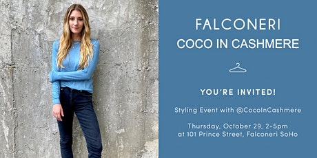 Sip & Shop with @CocoInCashmere tickets