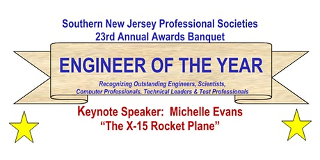 Southern New Jersey Professional Societies  23rd Annual Awards Banquet tickets