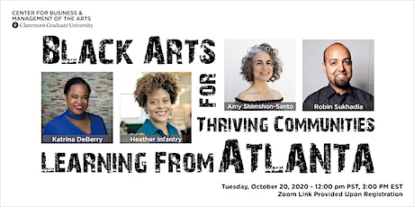 Black Arts for Thriving Communities: Learning From Atlanta tickets