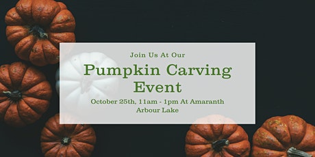 Pumpkin Carving At Amaranth Foods tickets
