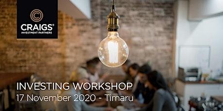 Investing Workshop - Timaru tickets