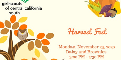 Harvest Fest - Daisy and Brownie Monday tickets
