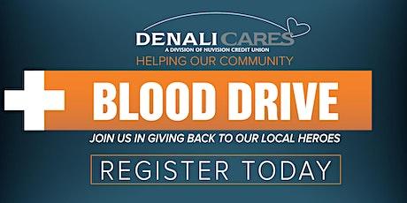 2020 Denali Veterans Day Blood Drive - 11/10/2020 tickets