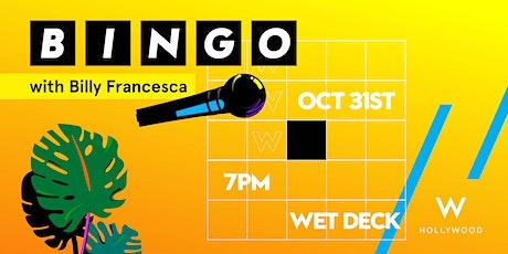 BINGO'WEEN with Billy Francesca tickets