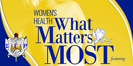 Women's Health:  What Matters Most tickets