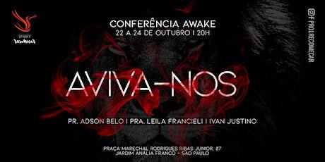 CONFERÊNCIA AWAKE | AVIVA-NOS ingressos