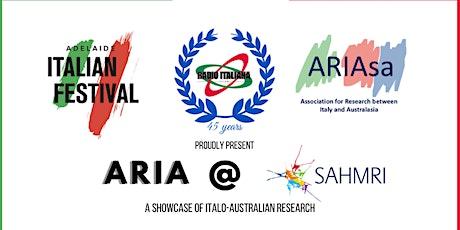 Radio Italiana 531am - Adelaide Italian Festival - Aria @ SAHMRI tickets