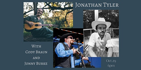 Jonathan Tyler with Cody Braun and Jonny Burke, Myles Smith opening tickets