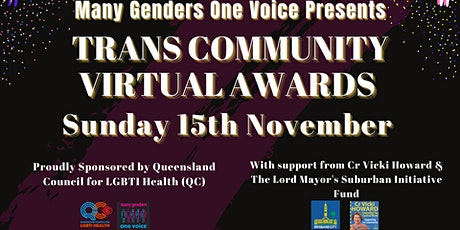 Trans Community Virtual Awards tickets