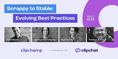 Scrappy to Stable: Evolving Best Practices | Zoom and In-person Event tickets