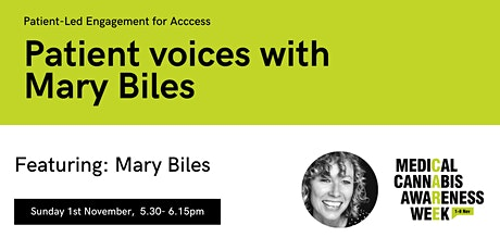 #MCAW2020: Patient voices with Mary Biles tickets