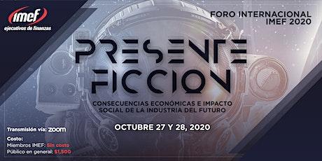 Foro Internacional IMEF 2020 boletos