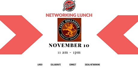 RelyLocal Networking Lunch @ Cafe Hollander - Brookfield tickets
