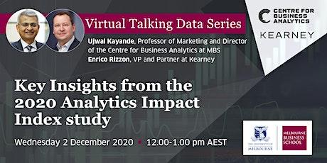 Virtual Talking Data Series: 2020 Analytics Impact Index Key Insights tickets