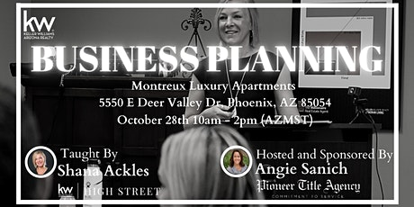 2021 Business Planning Clinic tickets