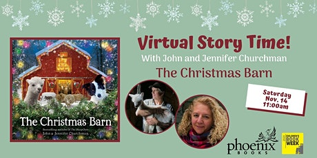 Virtual Story Time with John and Jennifer Churchman tickets