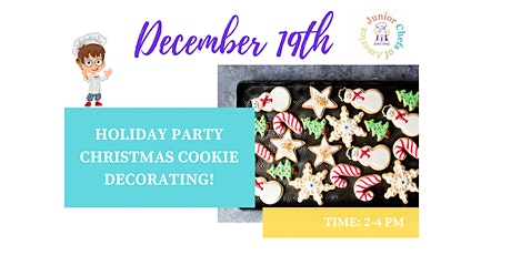 Kids (4-12) ONLINE Cooking Class -  Christmas Cookies! ~Happy Holidays tickets