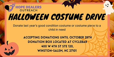 Halloween Costume Drive tickets