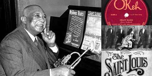 History of Jazz in NYC Webinar & 78rpm Blues Listening Party