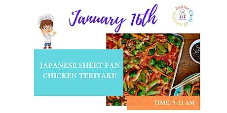 Kids (4-12) In-Person Cooking Class-Japanese Sheet Pan Chicken Teriyaki -AM tickets