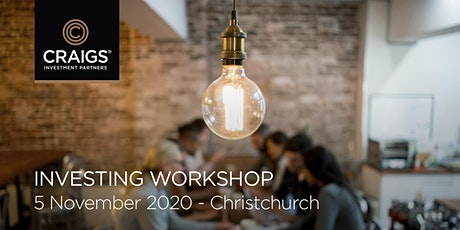Investing Workshop - Christchurch tickets