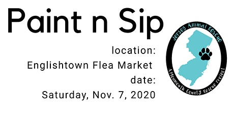 Paint n Sip for pets tickets