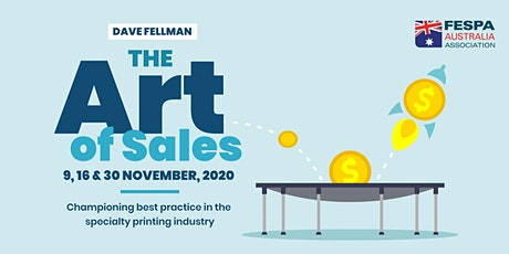 The Art of Printing Sales Part 1 tickets
