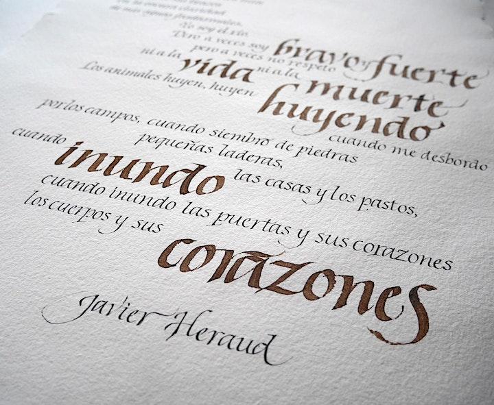 """Imagen de Itálicas """"finitas"""" con Juan Luis Gargurevich"""