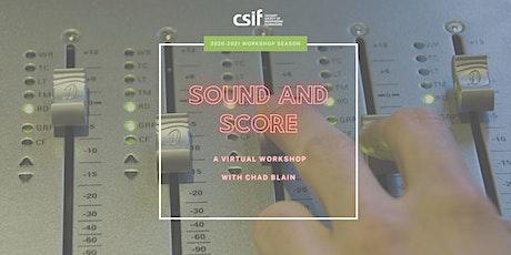 Sound and Score Workshop tickets