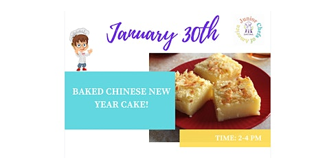 Kids (4-12) In-Person Cooking Class - Chinese New Year's Cake - PM tickets