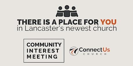 Community Interest Meeting tickets