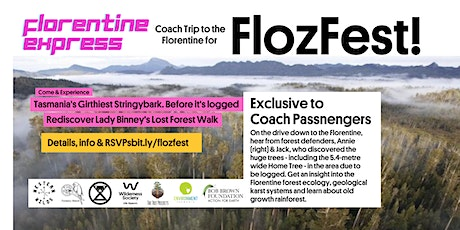 Coach Trip to Florentine for FlozFest! tickets