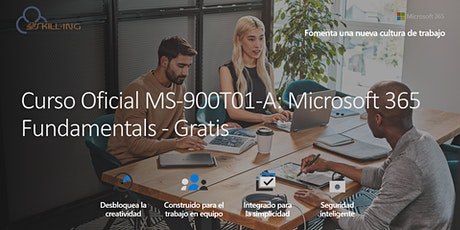 Curso Online MS-900T01-A: Microsoft 365 Fundamentals -Gratis (En español) entradas