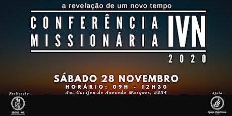 Conferência Missionária IVN 2020 ingressos