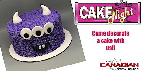 CakeNight - Halloween Monsters tickets