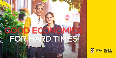 Good Economics for Hard Times tickets