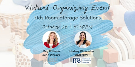 Virtual Organizing - Kids Storage Solutions tickets